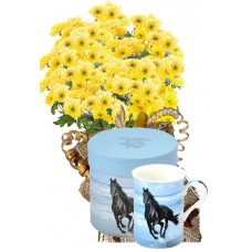 Бриана # 1 - Цветя и подарък