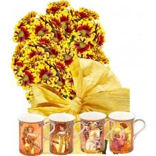 Ашли # 2 - Цветя и подарък