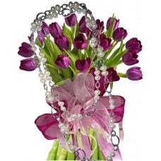 Агата # 5 - Цветя и Колие от перли