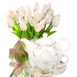 Бианка # 7 - Цветя и подарък