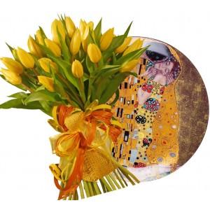 Жизел # 4 - Цветя и Чиния за стена