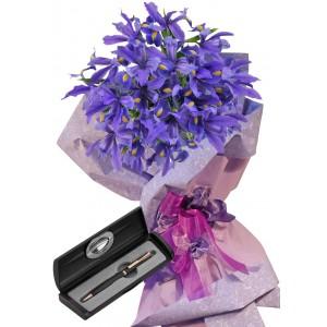 Ириси # 2 - Цветя и подарък