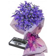 Ириси # 5 - Цветя и подарък