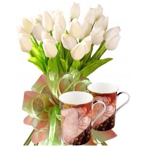 Бианка # 4 - Цветя и Чаши за кафе