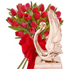 Моника # 3 - Цветя и Лебед