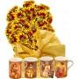 Ашли # 2 - Цветя и Комплект 4 чаши