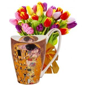 Ида # 3 - Цветя и Голяма чаша за кафе