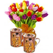 Ида # 1 - Цветя и Чаши за кафе