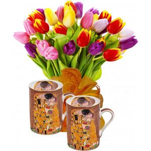 Ida # 1 - Flowers & Mug Set