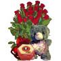 Близки по сърце - Рози, бонбони и мече