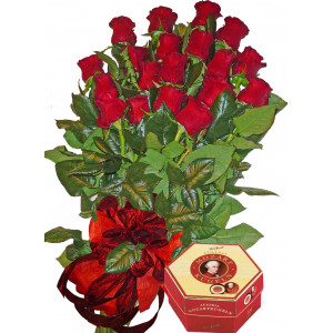 For you - Roses & Chocolates