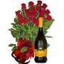 Specially for You!  Roses & Wine