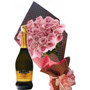 Нашият специален повод - Рози и вино