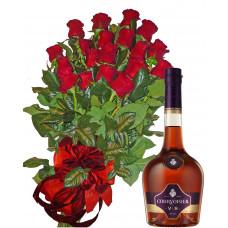 За един специален ден - Рози и Courvoisier VS Cognac