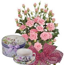 Alexa # 8 - Roses & Porcelain Set