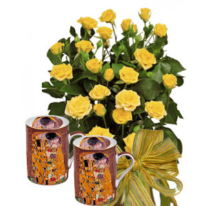 Dolorez # 2 - Roses and THE KISS - Mug Set