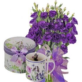 Габриела # 6 - Букет цветя и Порцеланова чаша