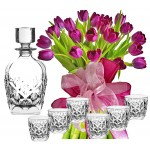 Agatha # 6 - Flowers and whiskey set