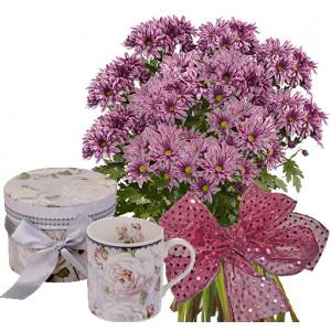 Стела # 4 - Цветя и Порцеланова чаша