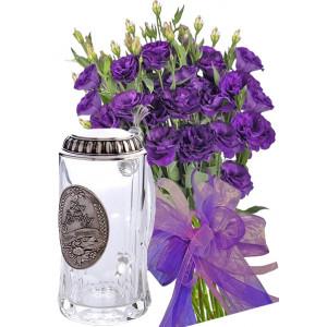Габриела # 8 - Букет цветя и Халба за бира