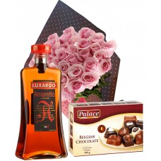 Always on my mind!  - Roses, Liqueur and Chocolates