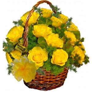 Arabella - rose basket