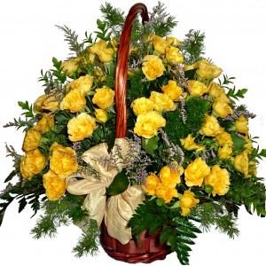 Angelique - Rose Basket