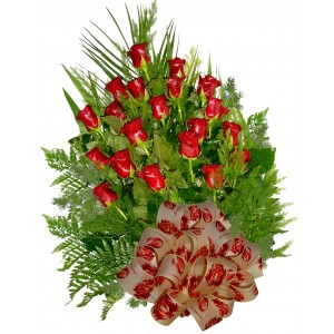 Целуни ме!  Букет от рози