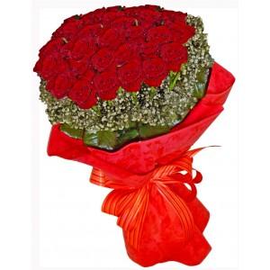 Романтично - Букет от рози