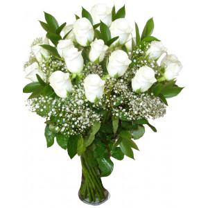 Вероника - Рози във ваза