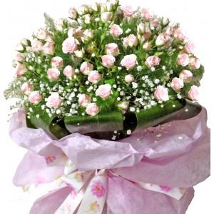 Бриджит - Букет от рози