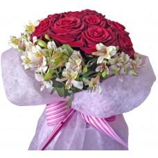 Белла - Букет от рози