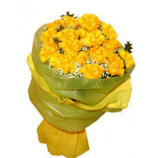 Annabelle - Yellow Roses Bouquet