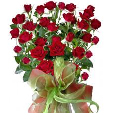 Саския - Букет от спрей рози
