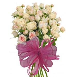 Олив - Букет от спрей рози