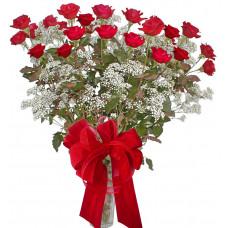 Minerva - Roses in a vase