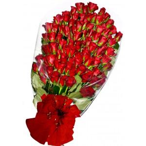 101 Червени рози - Букет от рози