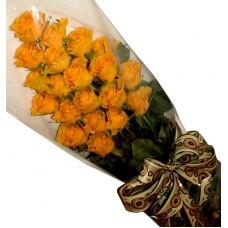 Жълти рози - Букет от рози