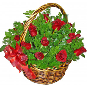 Rose fantasy - Rose basket