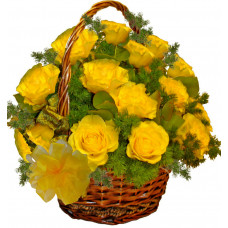 Arabella - rose basket