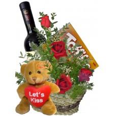 Защото те обичам -  рози и подаръци