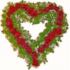 Дарявам ти сърцето си! - Аранжировка с рози