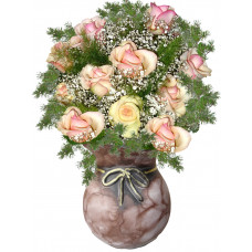 Just Splendid Roses - Rose Arrangement