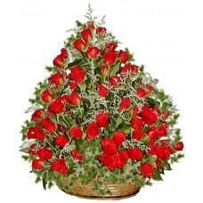 Касандра - Кошница със 101 рози