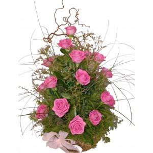 Семирамида - Кошница с рози