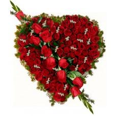 Защото си необикновена - Сърце от рози