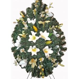 Sympathy fresh floral arrangement # 2