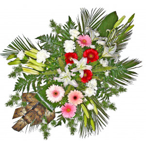 Funeral floral arrangement # 2