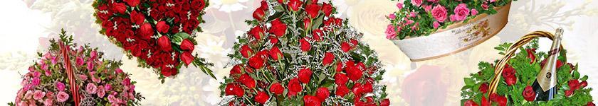 Rose baskets