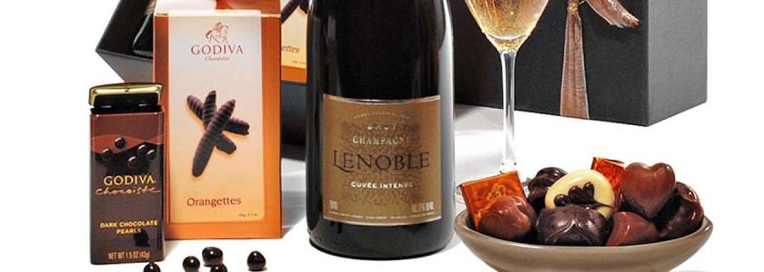 Бонбони и вино